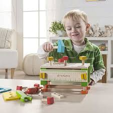 everearth kinder werkzeug kasten werkbank spiel werkstatt tisch spielzeug holz