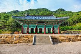 104 South Korean Architecture Traditional Old Building Or Monks Temple In Korea At Autumn Stock Photo Picture And Royalty Free Image Image 36849154