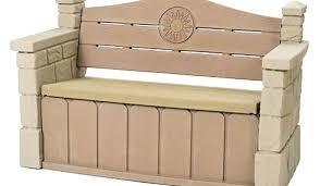 deck storage bench benches waterproof outdoor storage bench diy