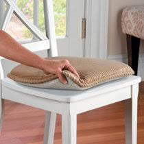 french script insulated tufted chair pad improvements catalog