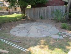 Installing 12x12 Patio Pavers by How To Lay A Circular Paver Patio How Tos Diy