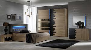 schlafzimmer set mike 4 teilig komplett mit led lichtern