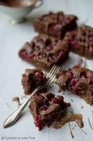 schokoladiger schoko kirsch kuchen experimente aus meiner