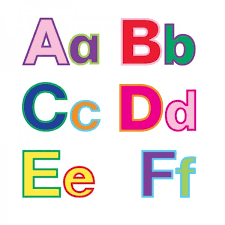 Cut Out Bulletin Board Letters in Rainbow Colors Hygloss Products