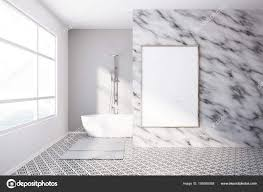 100 Marble Walls Interior Of Luxury Bathroom Marble Walls Poster Stock