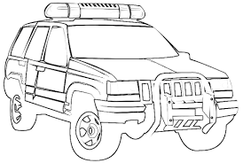 Jeep Vehicles For Police Truck Coloring Pagesjeep Pages