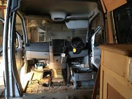 Prior To The Dramatic Conversion Van Looked Like Any Other Mercedes Sprinter