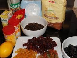 blechkuchen mit trockenfrüchten