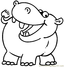 Coloring Pages Of Zoo Animals