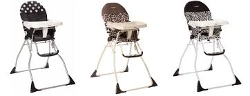 cosco folding high chair rollback deal