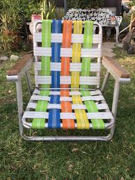 Vintage Multicolored Lawn Chair, Collapsible Outdoor Chair, Foldable ... Lawn Chairs Folding Double Outdoor Decoration Alinum Chair Frames Lweight Canada I See Your Webbed Lawn Chair And Raise You A Vinyl Tube Strap Fniture Enjoy Your Relaxing Day With Beach Lounge Mesmerizing Recling Custom Zero Gravity Retro Arnhistoriacom Walmart Best Ideas Newg How To Macrame Vintage Howtos Diy Cool Patio Webbing Replacement For Makeover A Beautiful Mess Repair To Mesh Of Fabric