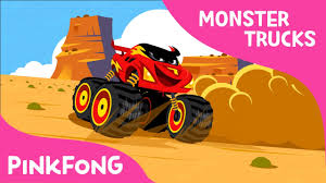 I'm A Monster Truck | Monster Trucks | Pinkfong Songs For Children ...