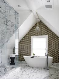 salle de bain dans les combles photos de conception de maison
