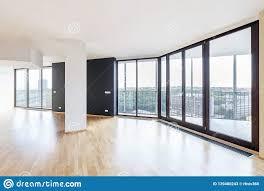 100 Loft Apartment Interior Design Modern White Empty With Parquet
