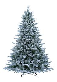ABUSA Flocked Christmas Tree 9 Ft Prelit Clearance With 900 LED Clear Lights 2497 Branch Tips