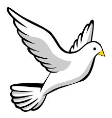 Dove In Flight Clipart 1