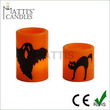 Halloween Flameless Taper Candles by Orange Halloween Led Candle Orange Halloween Led Candle Suppliers