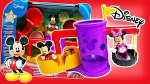 jouet disney mickey mouse parc de jeux avec minnie mouse et pluto