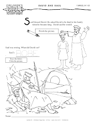 8 Pics Of 1 Samuel 24 Coloring Pages