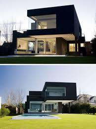 100 Contemporary House Facades Exterior Colors 14 Modern Black S From Around The World