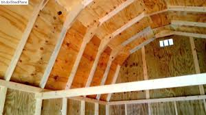 Gambrel Shed Plans 16x20 by 12x16 Barngambrel Shed 2 Shed Plans Stout Sheds Llc Youtube