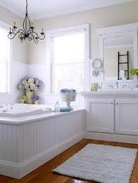Chandelier Over Bathroom Sink by Decorating A Small Bath Vanities Dresser And White Paints
