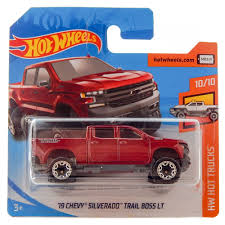 100 Hot Trucks 19 Chevy Silverado Trail Boss LT Pickup Wheels HW