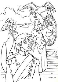Little Mermaid Coloring Pages Pdf Colouring The Ariel And Eric Printable Book Full Size