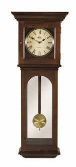 New England Pendulum Chiming Wall Clock Ridgeway Bostonian