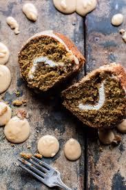 Nordic Ware Pumpkin Loaf Pan by Cream Cheese Swirled Brown Sugar Pumpkin Coffee Cake Half Baked