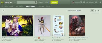 Deviantart Help Desk Hours by Site Navigation Activity Feed And Status Updates By Ikazon On