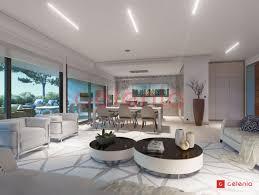 luxuriöse und moderne villa zum verkauf mit meerblick in