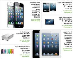 Ebay sale New iPad Mini $319 iPad 4 $469 iPod Nano $129 iPhone