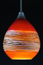 pendant lighting ideas amazing ideas orange glass pendant light