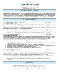 Resume Example Of Human Resources Free Download Rh Hidropartes Com Resumes Samples For Positions