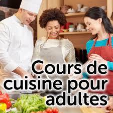 cours de cuisine à domicile dans les écoles ou entreprise les
