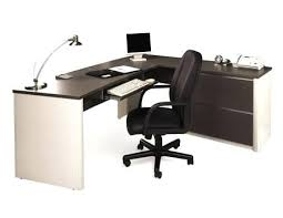 desk office depot magellan l shaped desk with hutch bestar