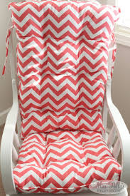 Gray Chevron Rocking Chair Cushions by Decor Fancy Pattern Glider Rocker Cushions For Furniture
