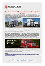 100 Self Moving Trucks Find The Best Truck Trailer For Sale Rent For Your