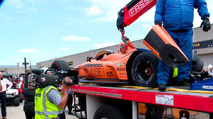 100 Two Guys And A Truck Indianapolis Fernando Lonso Wrecks On Day Two Of Indy 500 Practice CBS