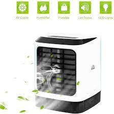 büro mobile klimaanlage usb arctic air cooler mit 7 farben