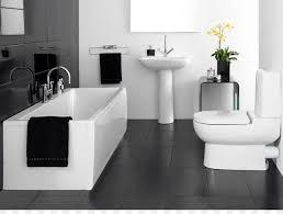 badezimmer fliesen schwarz und weiß badewanne png