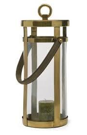 riado mini bungalow antique brass lantern set of 6 brass