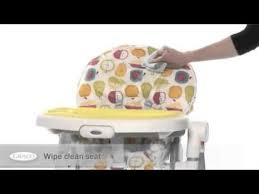 Graco High Chair Blossom Video by Graco Contempo Highchair Video Review Online4baby Com Youtube