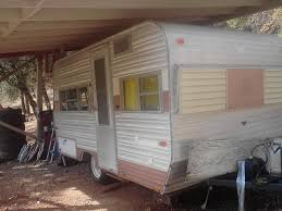 Adventures In Vintage Travel Trailer Remodel The Begining