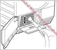 seche linge aeg lavatherm nettoyage du condenseur d un sèche linge aeg 86595