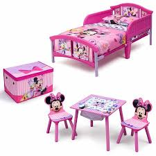Disney Minnie Mouse Room in a Box with BONUS Table & Chairs Set