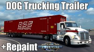 ATS Mods - DOG Intermodal Trucking Trailer + Repaint - YouTube Who Do You Sue In Truck Accident Cases Cottrell Law Office Army Vet To Get Truck From Progressive American Trucker Red Dog Transportation Llc Stateline Nevada Get Quotes For Rain Dogs Trucking A Sunday Six Pack Along I80 To Ride It Through Auto Attorneys Atlanta Hinton Powell Permitless Pbs And Diesel News Red Classic Mack Trucks Historical Society Truckdriverworldwide Movie Metzger Customer Testimonial