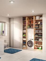 badezimmer nischenschrank mit schiebetüre badezimmer
