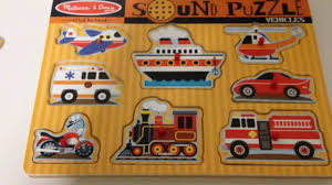 100 Melissa And Doug Fire Truck Puzzle And Sound Vehicles S Jigsaw With
